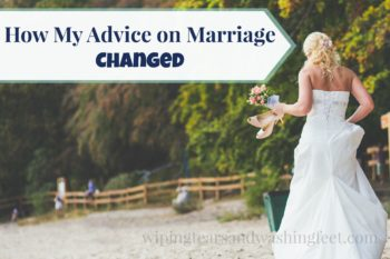 How My Advice on Marriage Changed